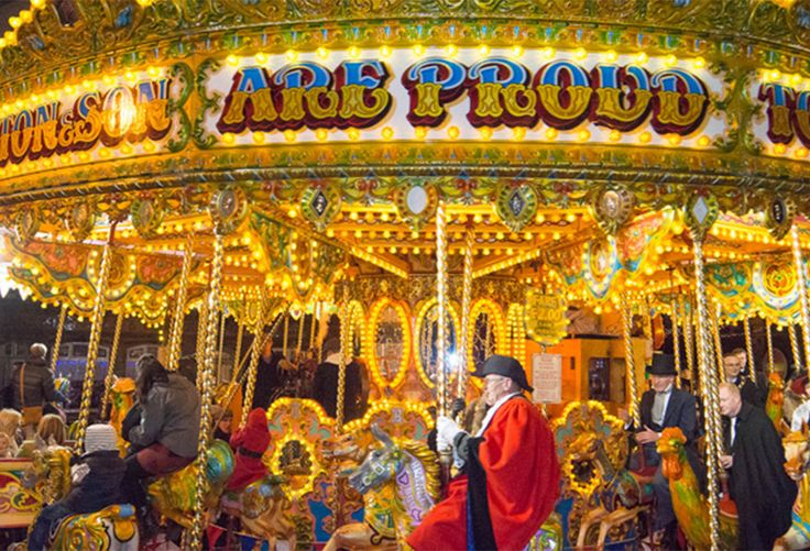 Worcester Victorian Christmas Fayre, the leading Victorian themed street market.