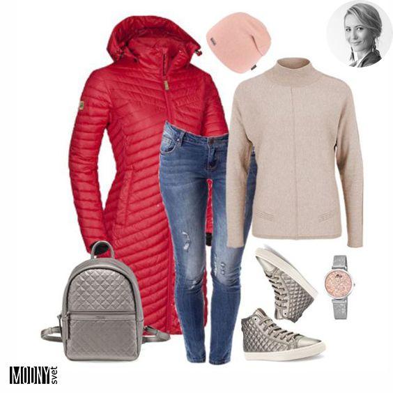 Červená túto sezónu rozhodne kraľuje a táto dlhá červená bunda je kráľovná😍 Či zvolíte kabát, alebo prešívanú bundu, určite zažiarite. K obom variantom sa hodia ako čižmy tak i tenisky. V kombinácii s béžovou a metalickým leskom nemôžete nič pokaziť.😉 Viac červených kúskov nájdete TU