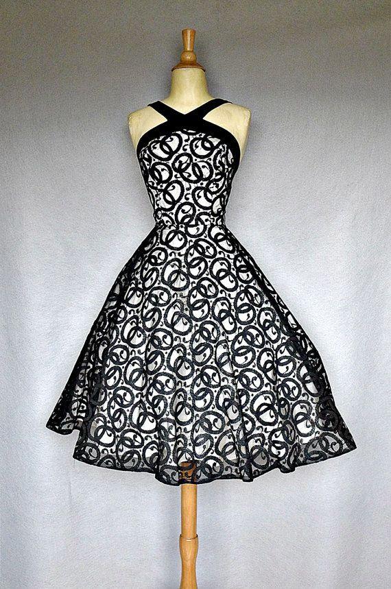 1950's party dress..