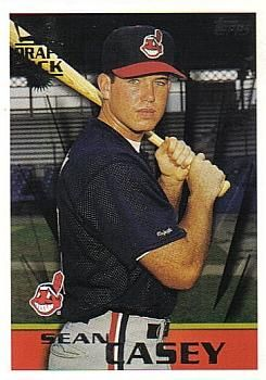 1996 Topps #25 Sean Casey Front