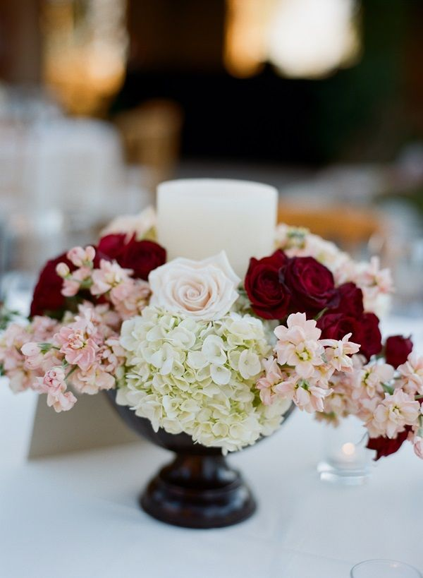 Pink Red White Centerpieces Centerpieces Centerpieces White