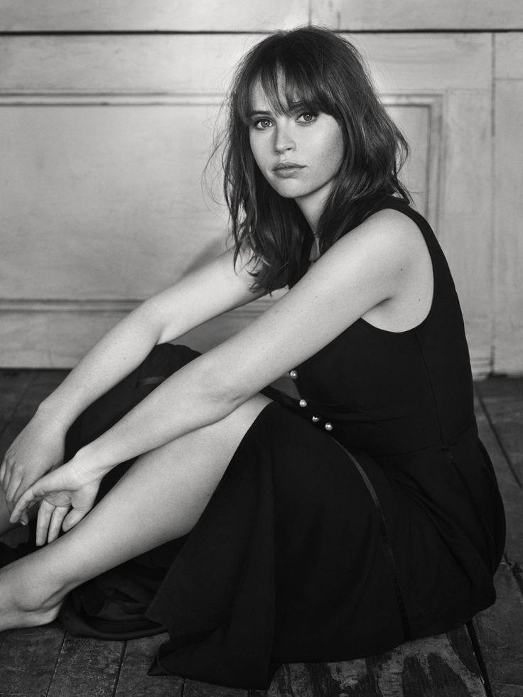 Felicity Jones, photographed by Miller Mobley for The Hollywood Reporter, Oct 21, 2016.
