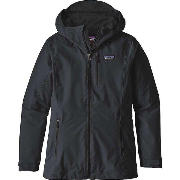Patagonia Women's Windsweep Hoody ($249) ❤ liked on Polyvore featuring tops, hoodies, black, hooded sweatshirt, hooded pullover, patagonia hoodie, patagonia hoody and hoodie top