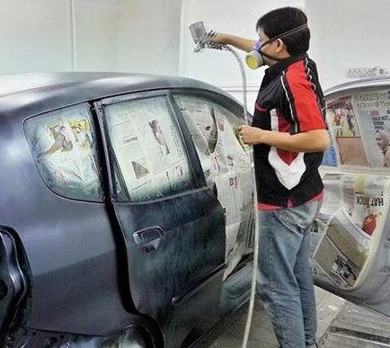 Beginilah Cara Mengecat Mobil yang Benar #caramengecatmobil #mengecatmobil  http://kedali.net/3-rahasia-cara-mengecat-mobil-agar-tampak-berkilau/
