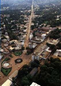 Bangui, capital of Central African Republic