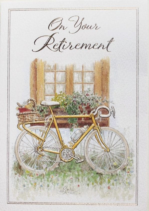7 best for sale retirement cards images on pinterest details about on your retirement greeting card bike theme suitable male or female brand new m4hsunfo