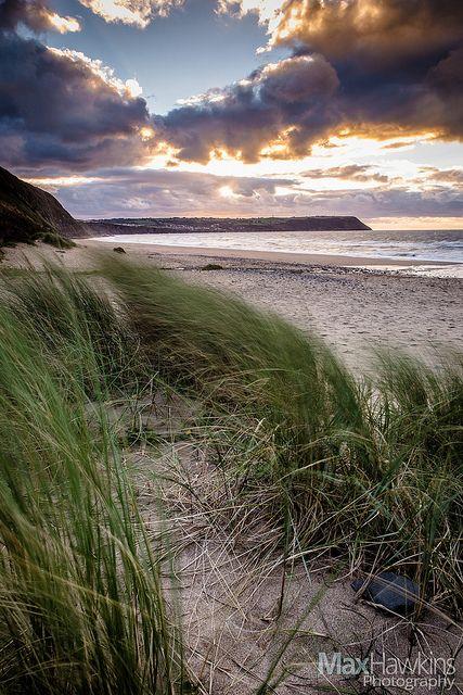 The beautiful beach of Penbryn (NT) Ceredigion Coast, West Wales