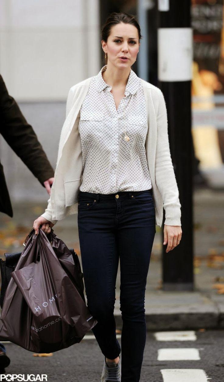 MYROYALS &HOLLYWOOD FASHİON:  Duchess of Cambridge shopping in London at Zara Home, October 25, 2013