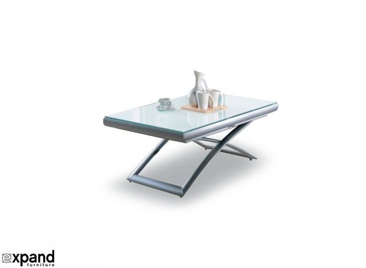 Horizon – Extending Glass Table