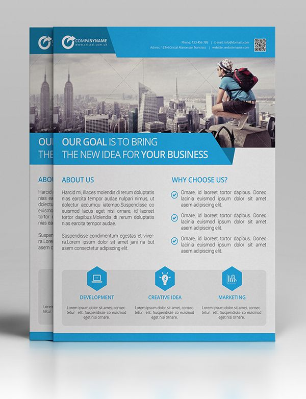 Best Brochure  Flyer Designs Images On   Business