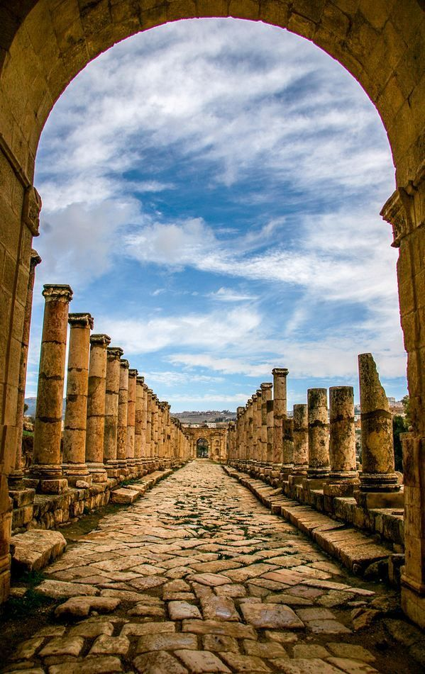 The city of 1000 columns, Gerasa / Jordan