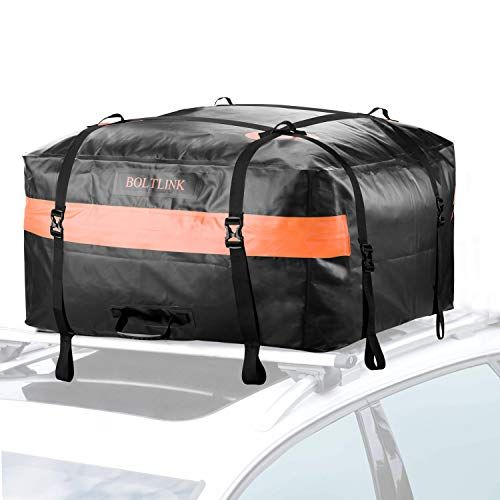47e54f374389 BOLTLINK Car Roof Top Cargo Carrier Bag, Made with 100% Waterproof ...
