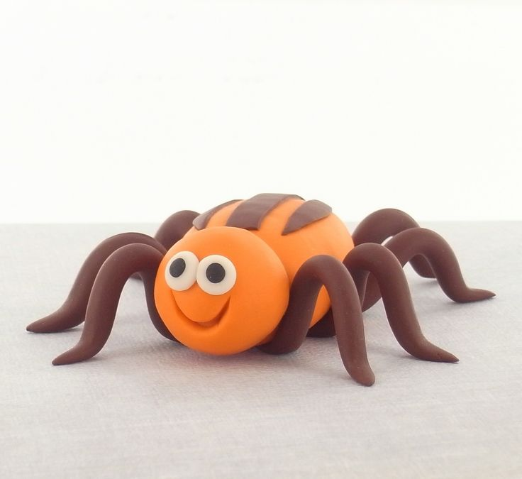Clay Craft Ideas For Kids Part - 22: Sculpey® III Spider