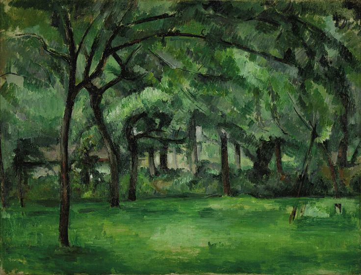 CEZANNE,1882 - Ferme normande, été, Hattenville : « Je ne pourrai souhaiter pour vous que la réussite de vos plantations et un beau développement de végétation : le vert étant une couleur des plus gaies et qui fait le plus de bien aux yeux. » (CEZANNE à Victor Chocquet, Gardanne, 11 mai 1886)