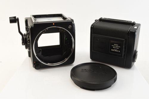 Zenza Bronica SQ-B 6x6 120 Film Medium Format SLR Camera with 220 Back NEAR MINT