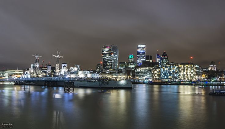 HMS Belfast - HMS Belfast is a museum ship, originally a Royal Navy light cruiser, permanently moored in London on the River Thames and operated by the Imperial War Museum.