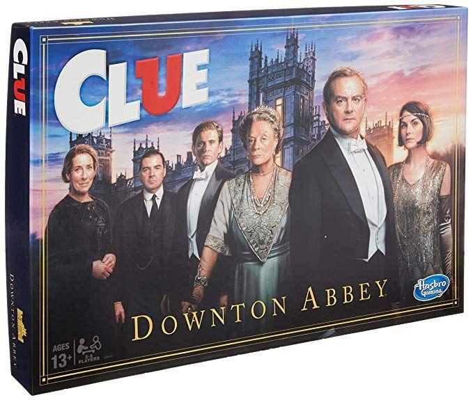 Amazon Com Hasbro Gaming Clue Downton Abbey Edition Board Game