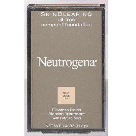 Neutrogena Skinclearing Oil-Free Compact Foundation, Beige