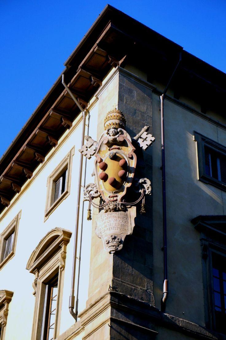 Firenze, Italy 피렌체 메디치 가문의 상징.