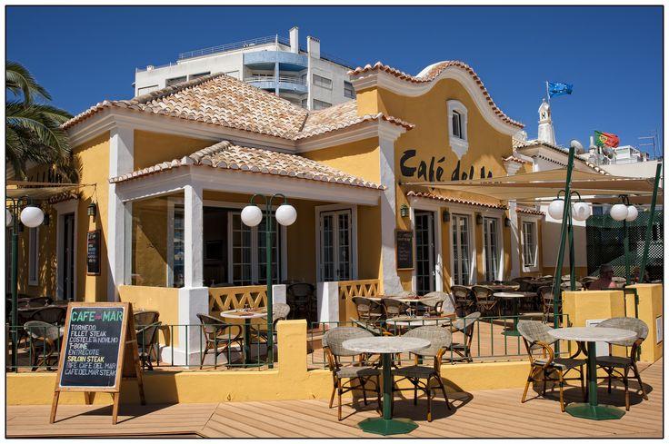 Cafe Del Mar in Praia da Rocha, Portimão, Algarve, Southern Portugal ✯ ωнιмѕу ѕαη∂у