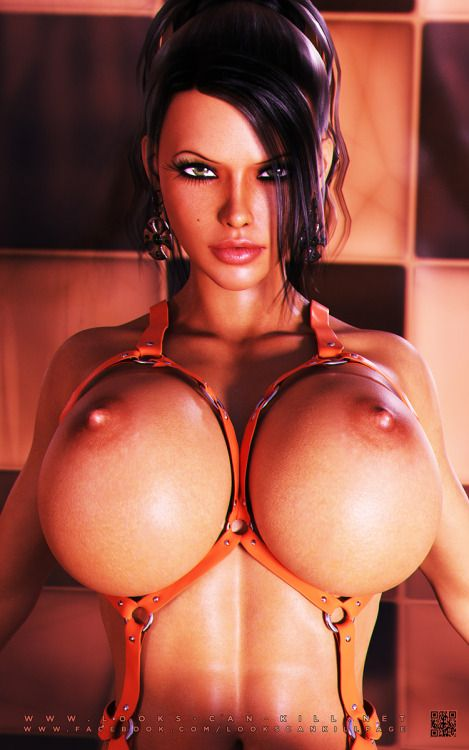 Thick 3d erotic model wish there