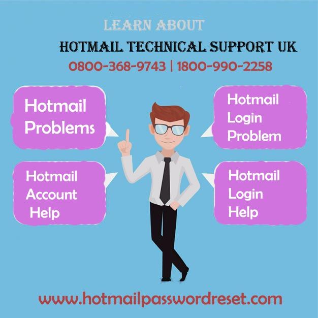 The Hotmail Login Problem like deleted mail recovery is resolved by Best Hotmail Technical Support UK team with Hotmail Password Reset. http://www.hotmailpasswordreset.com