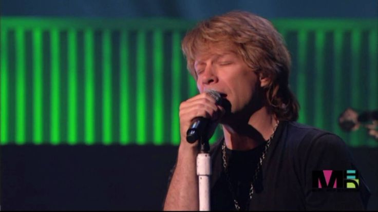 Bon Jovi - Hallelujah. This is a really nice version of this song.