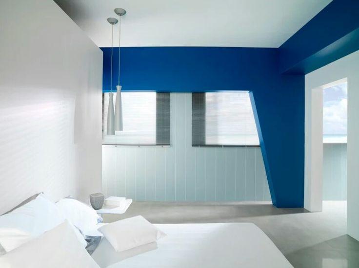 Combinaci n de blanco y azules cocinas ba os y - Habitaciones infantiles azules ...