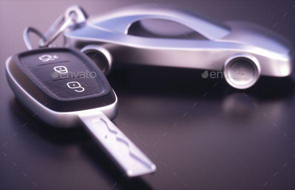 Car Key Holder By Ktsimage On Photodune 3d Illustration Car Key