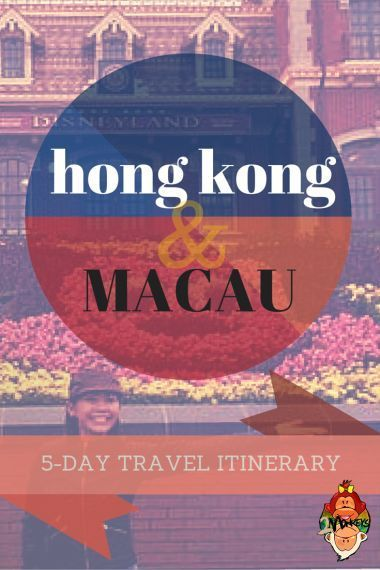 Hong Kong and Macau 5-day Trip Itinerary