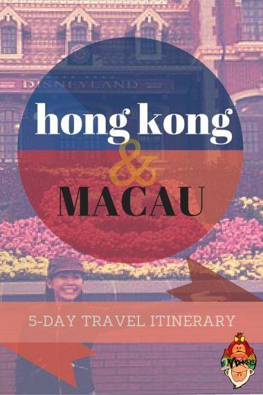 Hong Kong and Macau 5-day Trip Itinerary