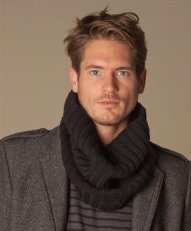 Dior Gebreide Col Sjaal - Zwart