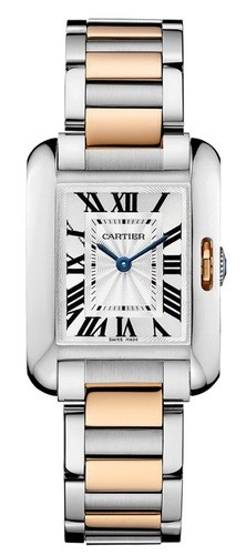 New in Box Authentic Cartier Tank Anglaise Rose Gold Automatic - $6,260