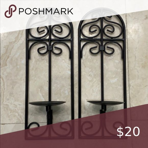Hobby Lobby Wall Sconce Candle Holders in 2020   Candle ... on Wall Sconces Hobby Lobby id=92051