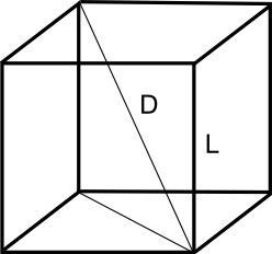 Cubo: formule, definizioni e proprietà del cubo.