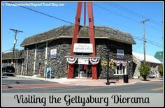Visiting the Gettysburg Diorama and History Center in Gettysburg Pennsylvania
