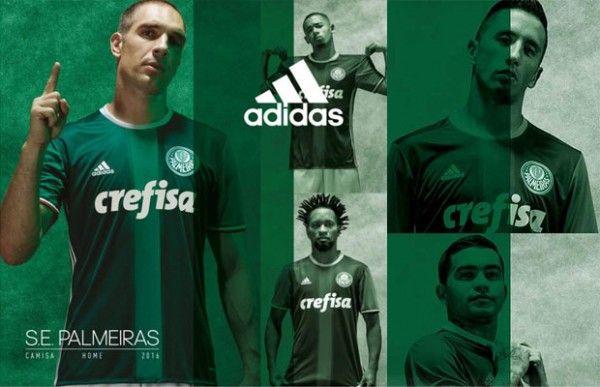 Nova camisa do Palmeiras para 2016