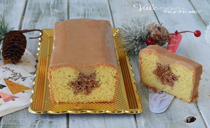 PLUMCAKE DI NATALE con panna e caffe ricetta dolce delle feste,ricetta di Natale facile e scenografica, bella e golosa,con una copertura di ganache al caffè