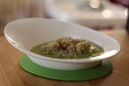Purée courgette asperge & quinoa (bébé de plus de 9 mois) bebe sale