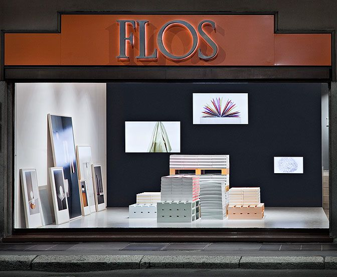 FLOS  Installation for presentation of the new collections of fabrics, wallpapers and launch of the new decorative catalogue, combined with some of the new products.  Project: Stefanie Barth & Carina Frey – Luca Toniolo – Guido Tamino  Worksite supervision: Luca Toniolo  Photo and videos: Frank Hülsbömer – direct link  Milano – Corso Manforte – Fuorisalone 2015