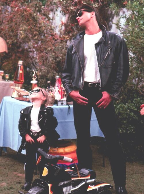 I learned it from uncle Jesse .