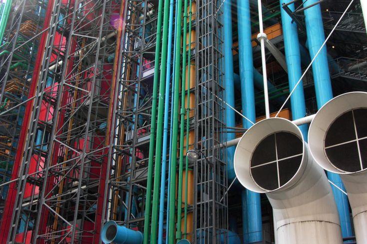 Les tubes de Pompidou