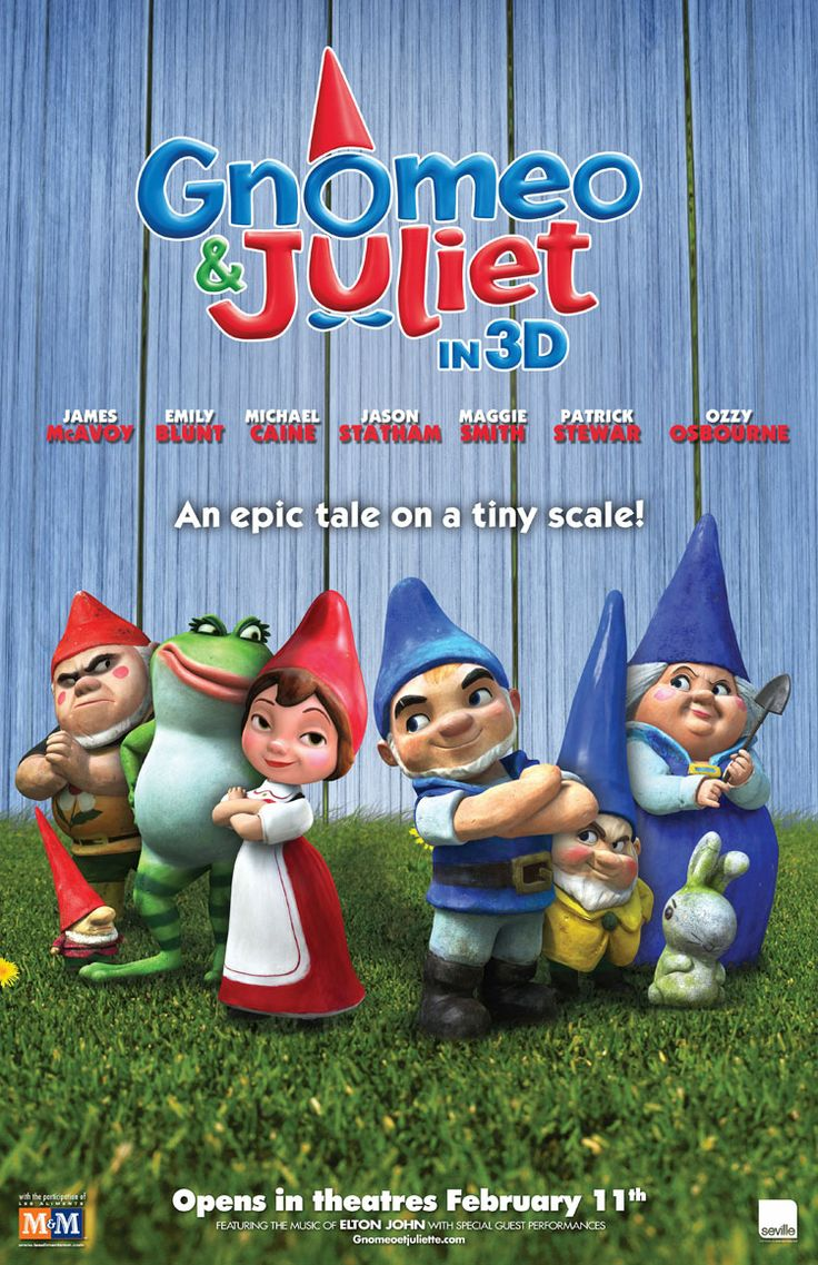 Gnomeo and Juliet Animated movies