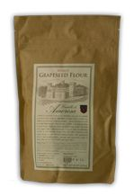 Grapeseed flour, made from the seeds of Chardonnay or Merlot grapes, is a healthy and gluten-free alternative to wheat flour.