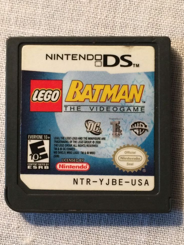 LEGO Batman: The Videogame (Nintendo DS, 2008) GAME ONLY NO BOX