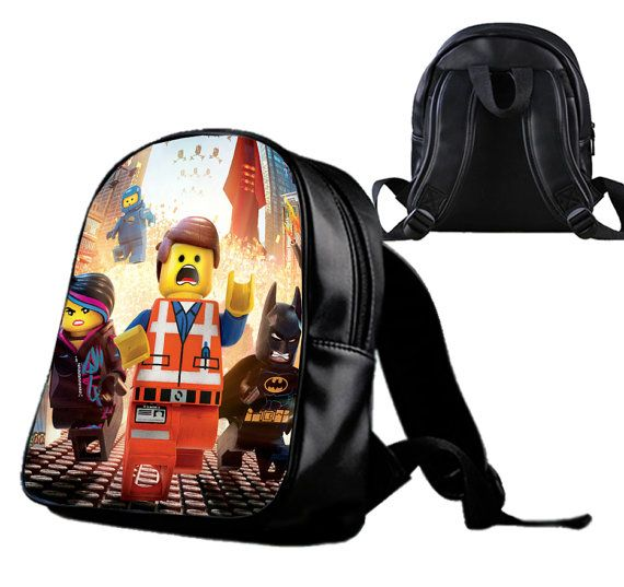 The Lego Movie  Backpack/Schoolbags for kids. by Wonderfunny #Minecraft #backpack #schoolbags #gift #birthday