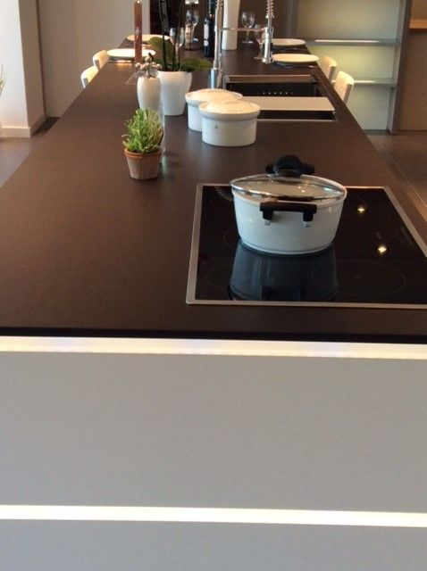 122 best images about dekton kitchen on pinterest plan de travail polished plaster and - Werkblad silestone ...
