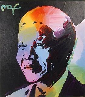 Nelson Mandela 1 - Peter Max