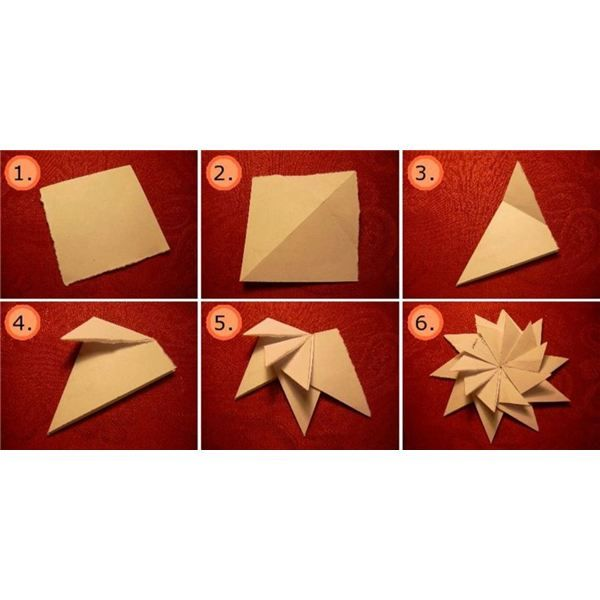 63 best origami images on pinterest easy origami for How to make 3d paper stars easy
