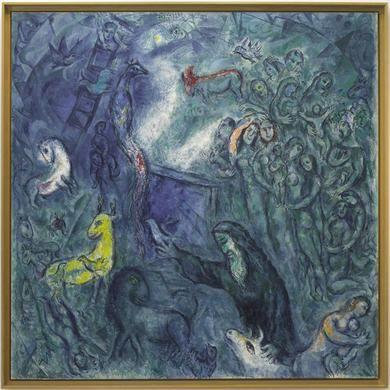 17 meilleures images propos de marc chagall sur for Tableau de l arche de noe